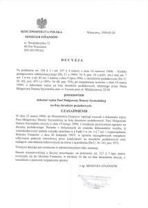 Doradca Podatkowy - Małgorzata Szymańska