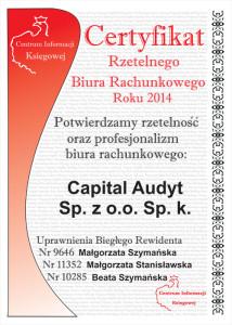 Capital Audyt Rzetelne Biuro Rachunkowe